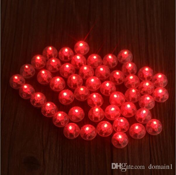 White 2017 Round Led Ball Lamps Mini Lantern Balloon Light For New Year Wedding Party Decoration Floral Decor