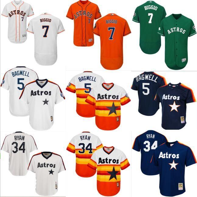 get cheap 0ab8c a8680 mlb jerseys houston astros 7 craig biggio blue throwback jerseys