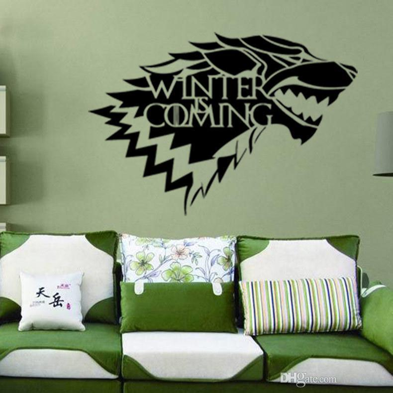 9945 wolf game creative pvc environmental study bedroom decorative