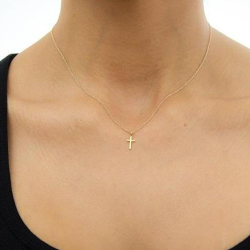 Wholesale fashion jewelry gold plated women wishbone necklace cross wholesale fashion jewelry gold plated women wishbone necklace cross charm necklace collarbone chain xl004 star pendant necklace glass pendant necklaces from aloadofball Gallery