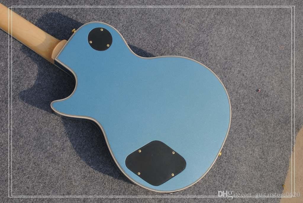 Заводская цена на заказ магазин 6 струн ЭМГ пикап Закк Уайлд яблочко серебристый черный круг гитара Бесплатная доставка