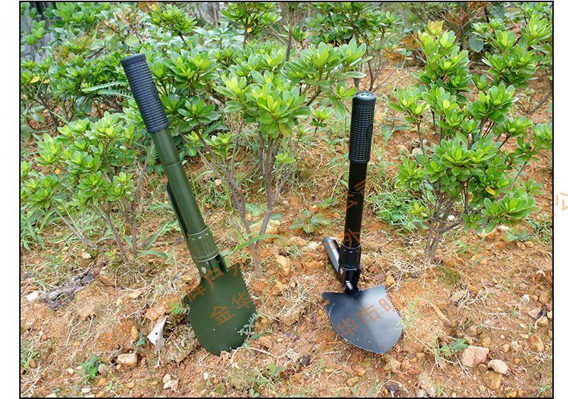 Ein Stück Mini Multi-Funktions Klapp Schaufel Überleben Kelle Dibble Pick Camping Outdoor Garten Werkzeug Freies Verschiffen