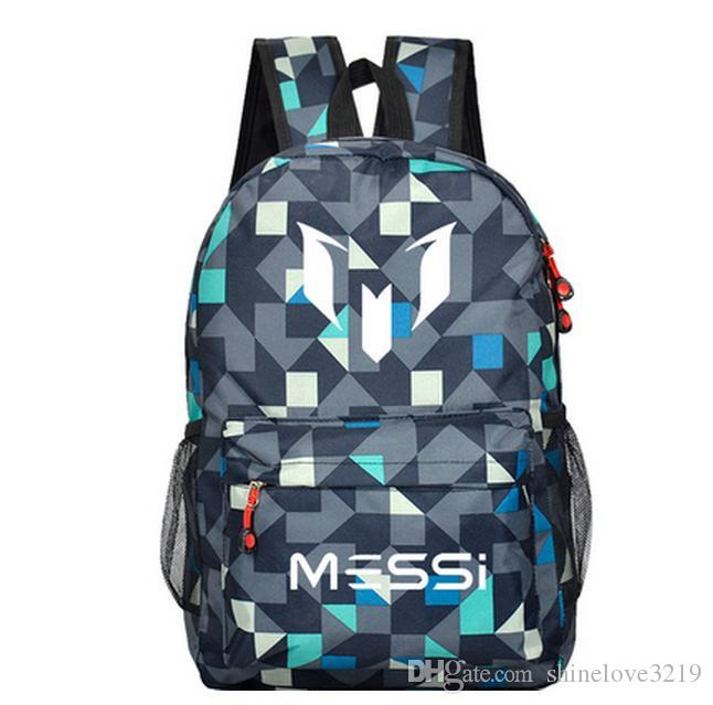Messi backpacks waterproof jansport backpack men women Milky Way starry sky  Schoolbags mochila for teenage boys girls kids