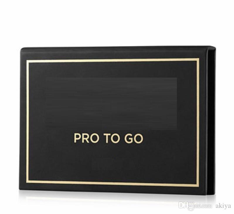 Чулок!Горячий макияж Pro To Go палитра глины 0.03 oz X6 тени для век 6 цветов палитра теней для век высокое качество DHL бесплатная доставка