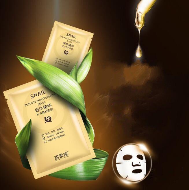 Bisutang Snail Esse Essence Увлажняющая маска Увлажняя маска Масляные Маски Маски для лица Гладкая маска для лица Уход за кожей