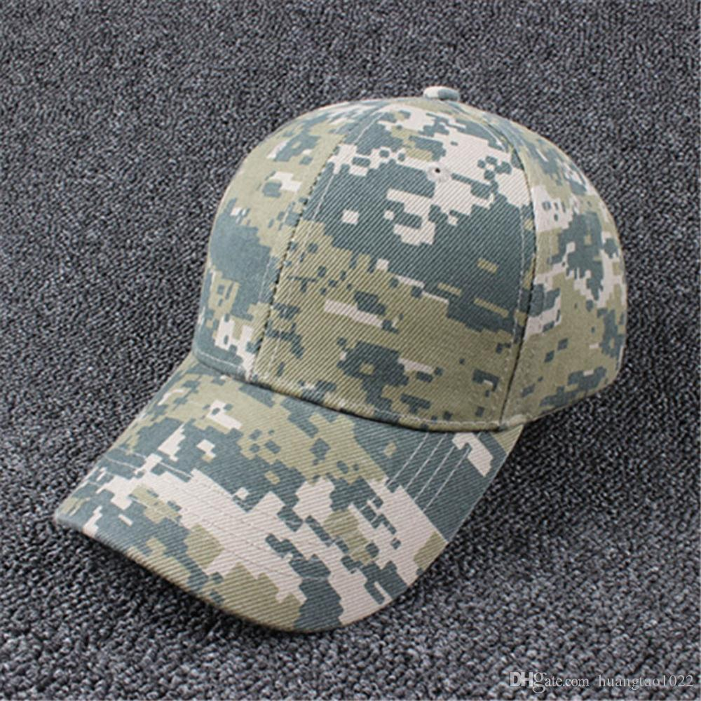a87f979c1a3 2019 Military Baseball Caps Camouflage Outdoor Tactical Caps Navy Hats US  Marines Army Fans Sports Army Visors Navy SEAL From Huangtao1022