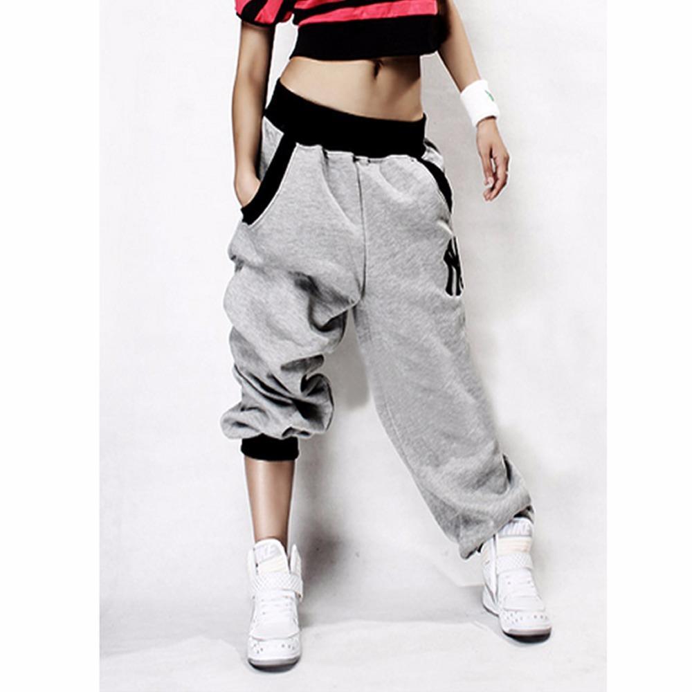 Compre Al Por Mayor Mens Pantalones Para Mujer Pantalones Casual Harem  Baggy Hip Hop Dance Sweat Pants A  23.4 Del Honey111  8e34aeacf2b