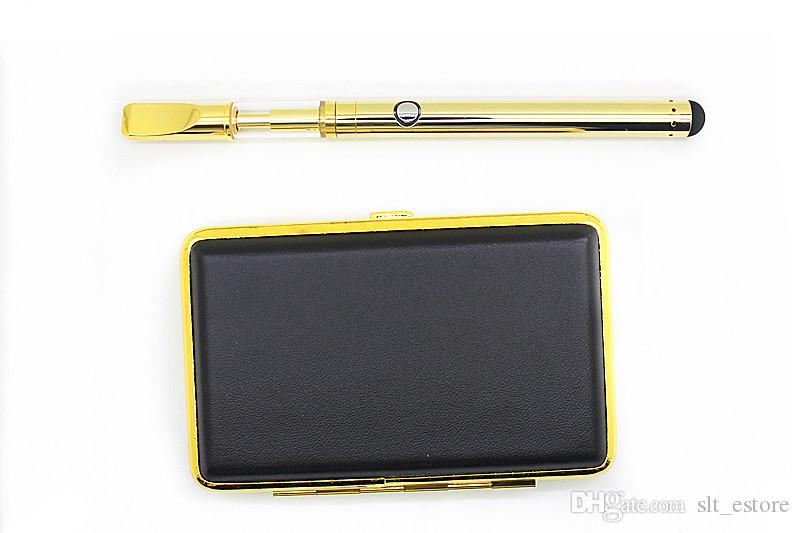 BUD Touch vape Kit Gold O pen CE3 Starter Kits Vaporizer Pen cartridge packaging 350mAh Battery Mini USB charger 510 Thread Vape
