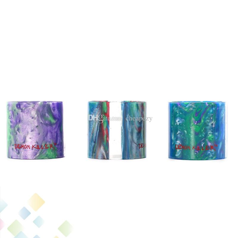 Demon Killer Replacement Resin Tube for TFV12 Tank 6ml Atomizer Replacments Tube High quality E Cigarette DHL Free