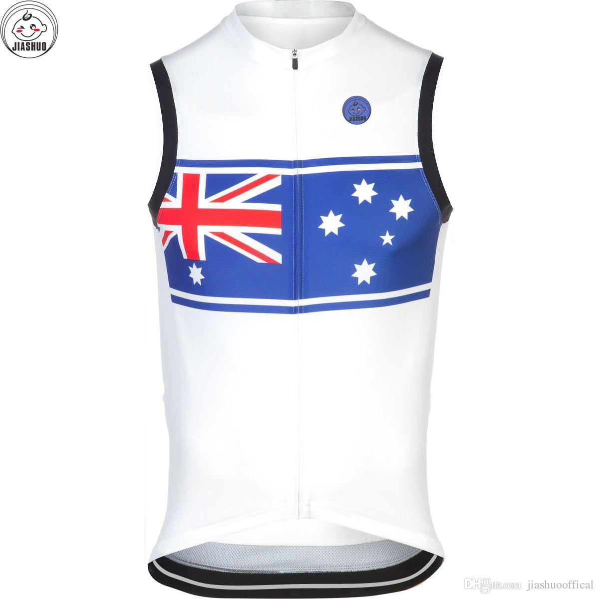 Австралия новый 2017 велосипед mtb road RACE Team Pro Велоспорт жилеты Джерси / рубашки топы одежда дыхание Air JIASHUO индивидуальные