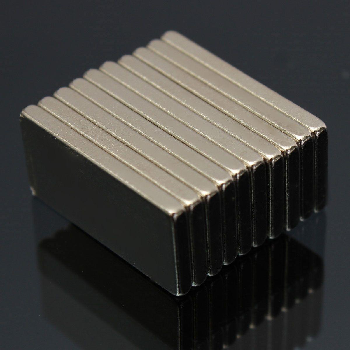 N52 20x10x2mm Block Magnets Rare Earth Neodymium Magnets