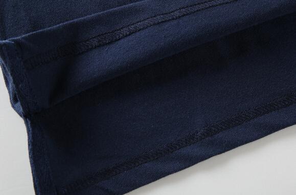 뜨거운 2017 새로운 브랜드 망 캐주얼 셔츠 여름 봄 큰 목화 짧은 소매 비즈니스 남성 의류 골프 스포츠 티셔츠