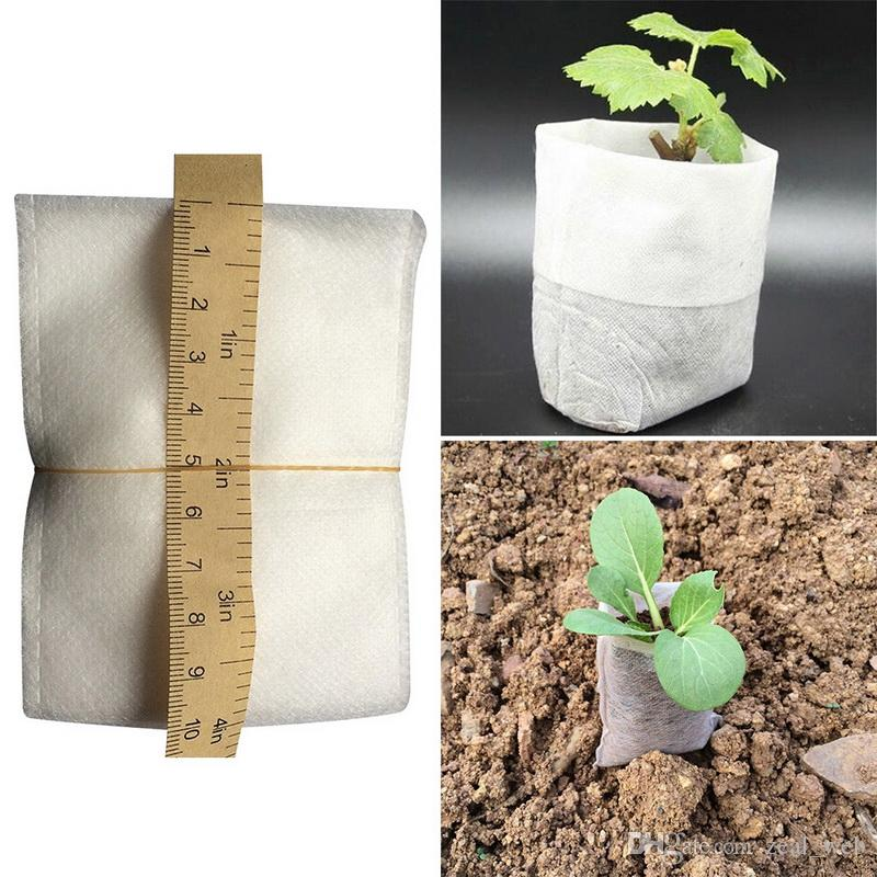 10 Size Option Non-Woven Fabric Reusable Soft-Sided Highly Breathable Grow Pots Planter Bag With Handles Cheap Price Large Flower 7