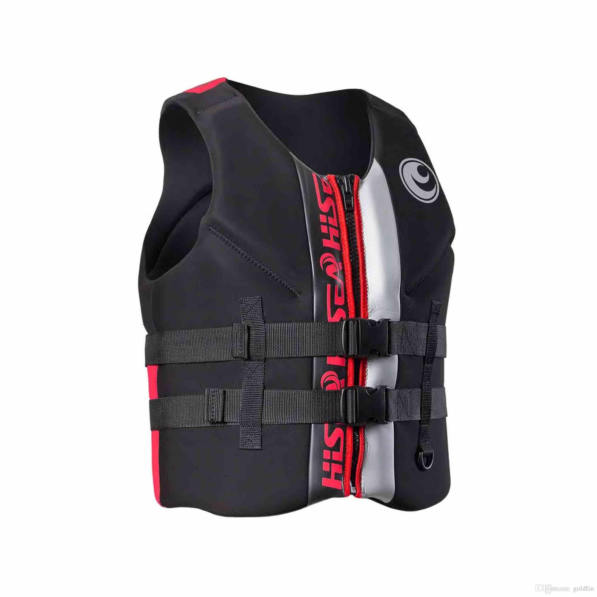 6a520c9affd Neoprene Swim Vests for Adults Life Vest Jacket Fishing Vest Water ...