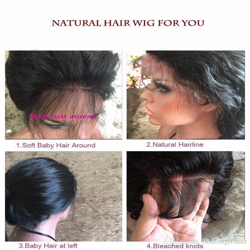 Full Density Synthetic Lace Front Wig With Baby Hair Short Synthetic Wigs For Black Women Cheap African American Short kinky Curly Wig