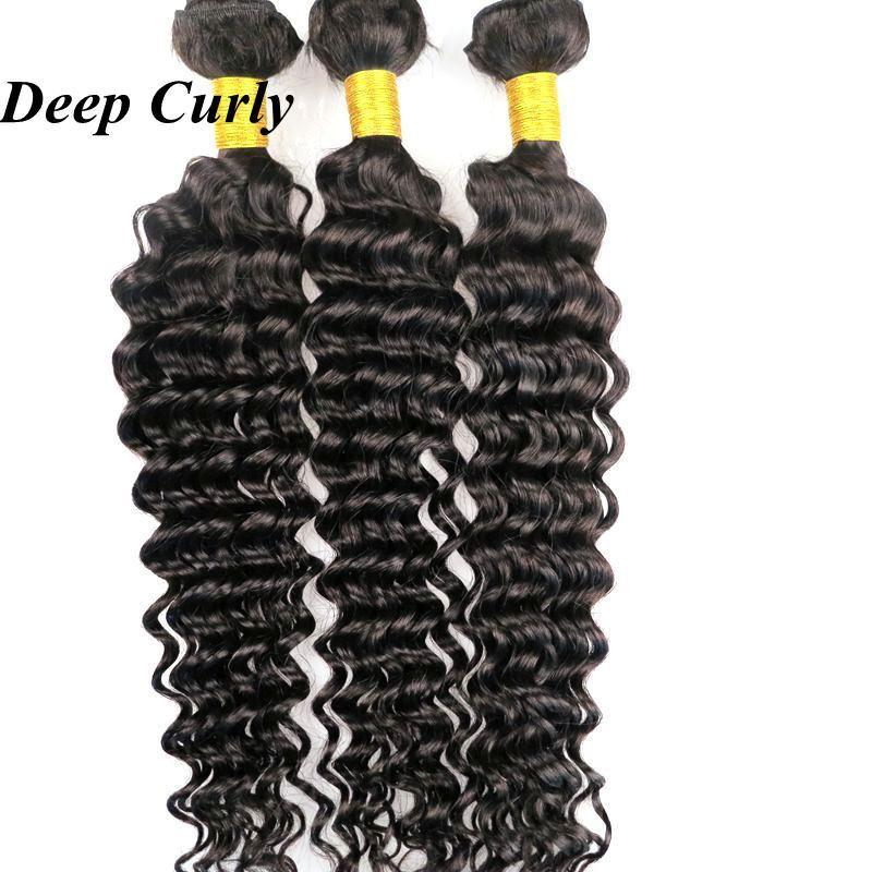 Virgin Braziliaans Haar WEKS Menselijk Haarbundels Weefsels 8-34inch Onverwerkte Peravain Indian Maleisische Mongoolse Maagdelijke Human Hair Extensions