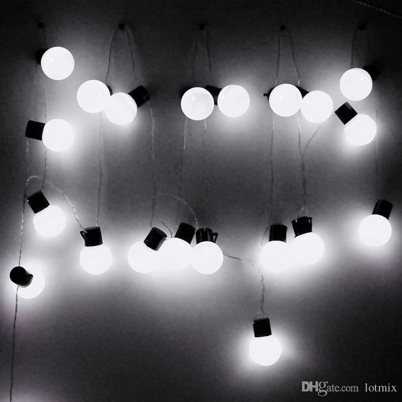 10 m 38 Bolas de Iluminación de Hadas Impermeable LED Luces de Cadena Para la Fiesta de Navidad Habitación Jardín Decoración Led Luz Al Aire Libre EE. UU.
