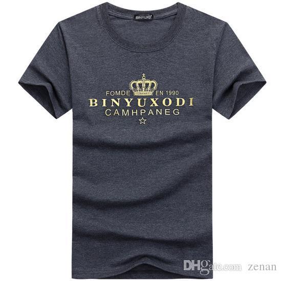2017 verano Nuevo para hombre gimnasios camiseta Crossfit camisetas de fitness impresa moda masculina ropa de algodón corto marca Tee Tops