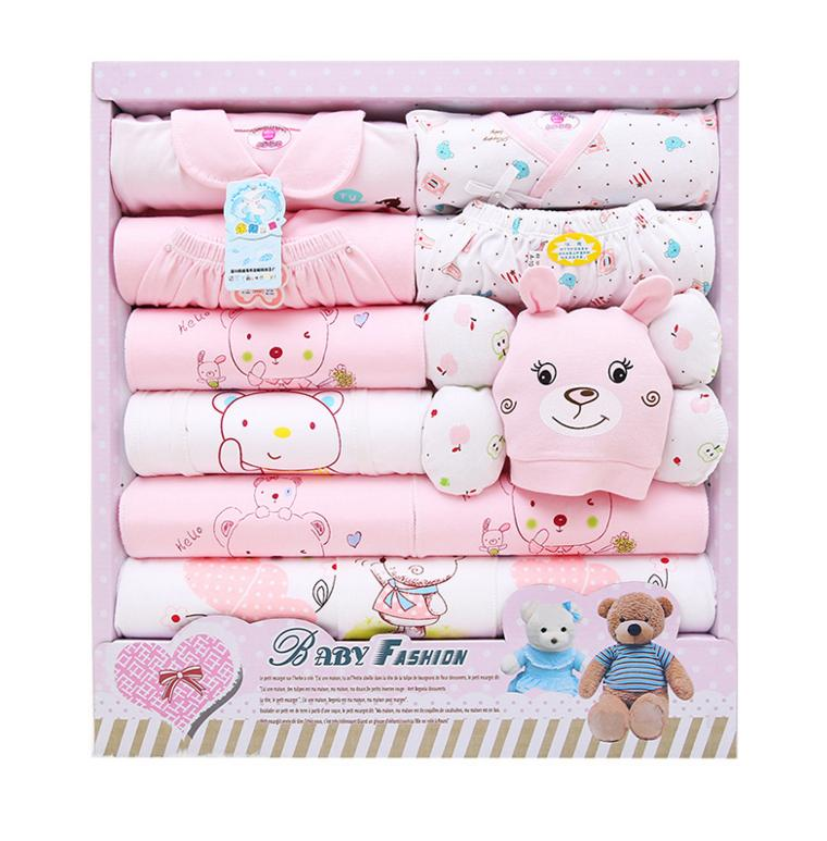 3de5b213e168e 2019 2016 New Spring Autumn Winter Newborn Baby Gift Sets Infant Baby Boy  Girl Clothes Package 100% Cutton High Quality From Mjstore