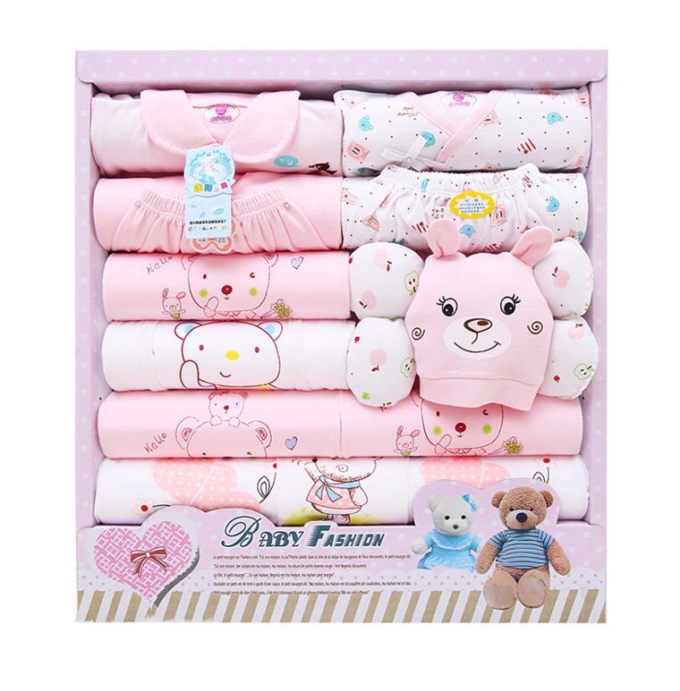 2017 2016 New Spring Autumn Winter Newborn Baby Gift Sets Infant ...