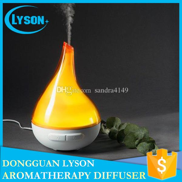 Top Rated SPA Mist LED Night Light Ultrasonic Bloom Vaporizer Diffuser Aroma Sprayer Home Purifier Essential Oil Diffuser