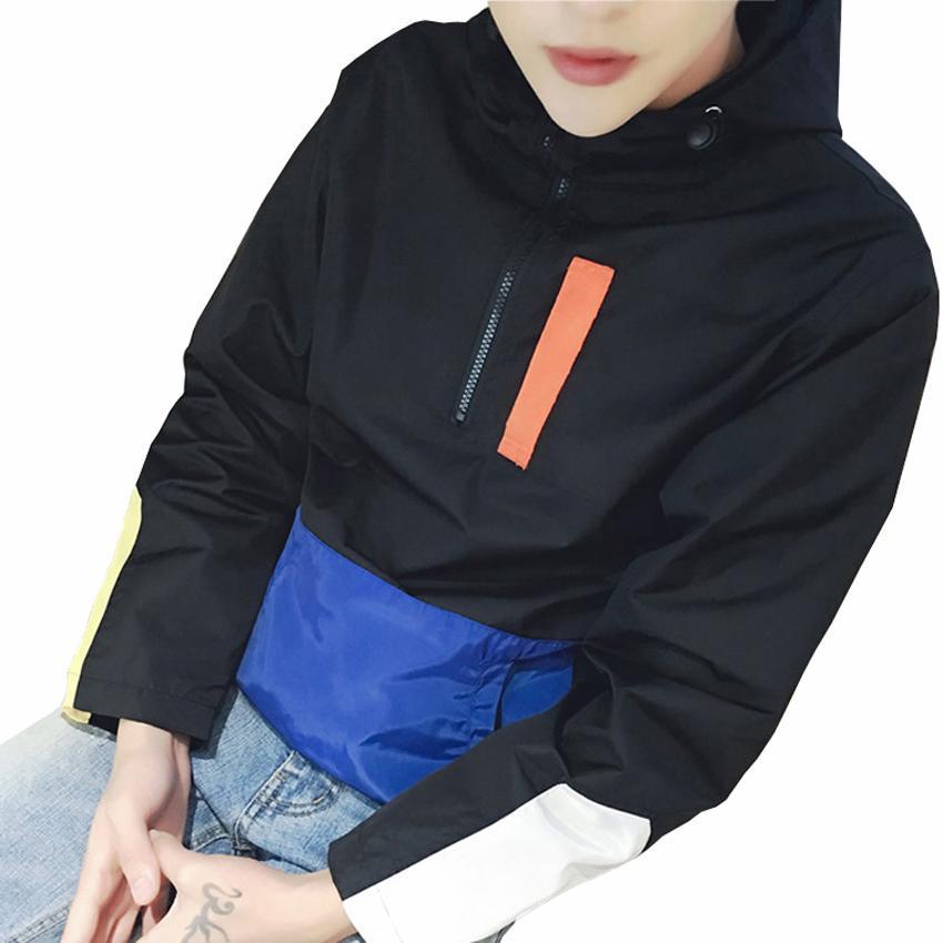 Wholesale New Fashion Trend Men Pullover Jackets Designer Half ...