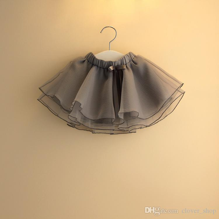 Baby Girl Pettiskirts Net Veil Skirt Kids Cute Princess Clothes Birthday Gift Toddler Ball Gown Party Kawaii Tulle Skirts