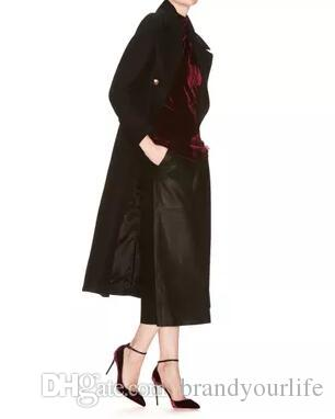 2017 nova chegada mulheres bombas tira no tornozelo sexy de salto alto vinho vermelho rebanho sapatos de festa pontudo toe vestido sapatos de salto fino