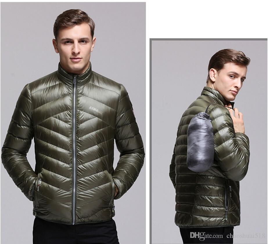 2017 New 2018 Winter Down Jacket Casual Men'S Duck Down Jackets ...