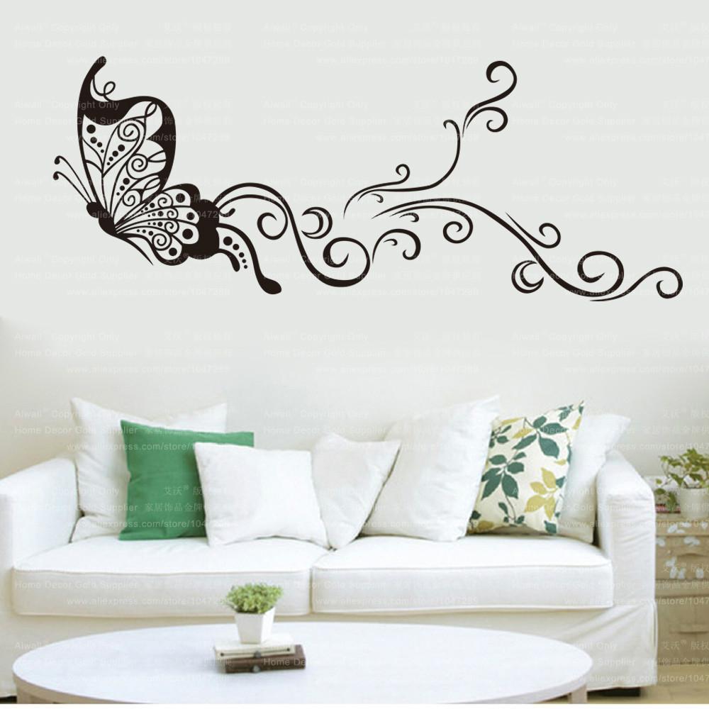 9315 Vinyl Removable Decorative DIY Butterflies Wall Stciker For Kids Room Art Wall Decals Home Decor