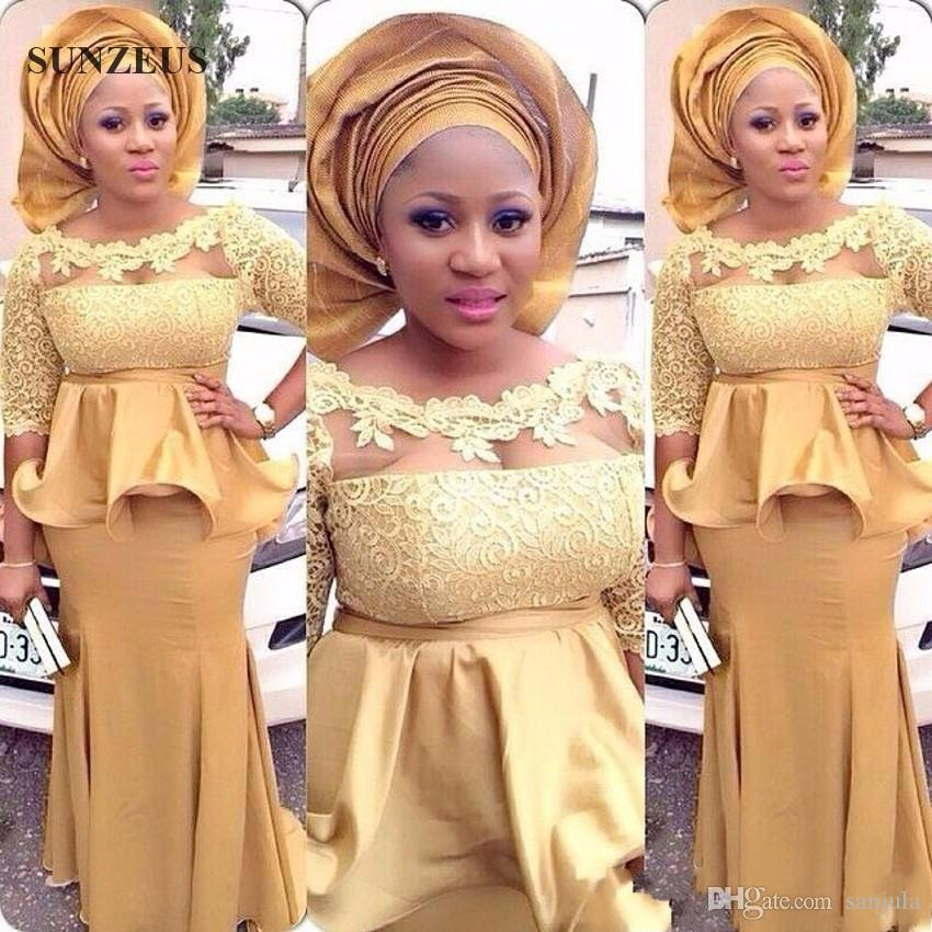 Ankara lace dresses for women