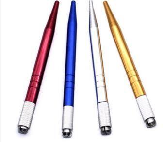 Maquiagem Permanente manual Pen 3D sobrancelha Bordado Handmade Tattoo MicroBlading Pen