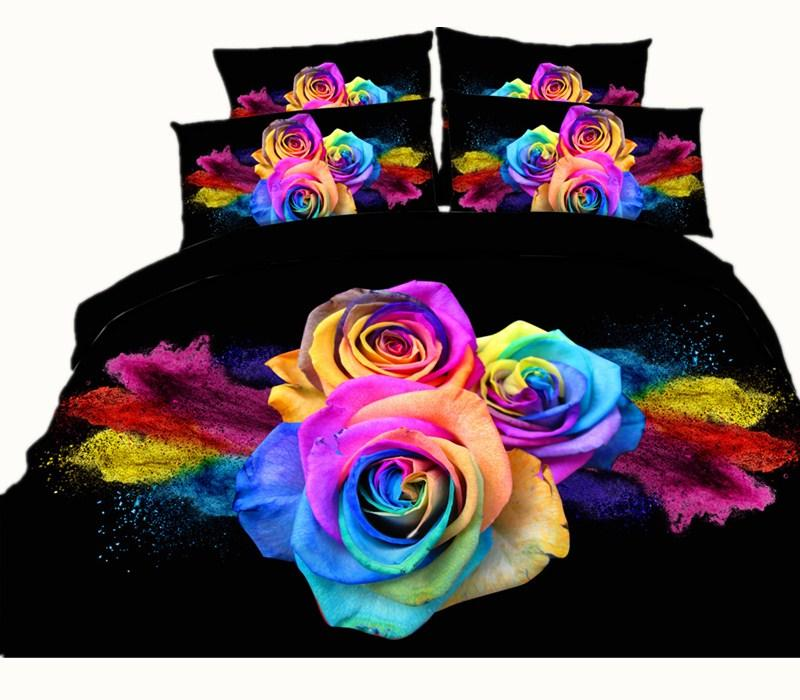 6 Styles Luxurious Noble White Rose Pearl Necklace 3D Printed Bedding Sets Twin Full Queen King Size Bedspreads Duvet Cover Comforter Set