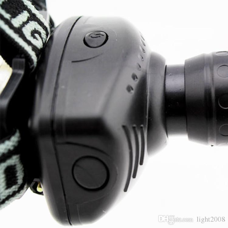 New high quality Q5 head lamp Linternas frontal their leading zoom 3 model waterproof lamp fishing ride a head lamp flashlight