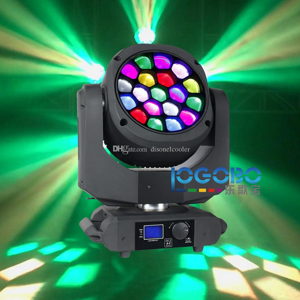 Drop Shopping Led Bees Eye Moving Light Headed 19x15W RGBW Professional Stage Lighting 4-60 Degree Zoom DJ DMX Disco Beam Wash Effect Spot Bees Lighting Bee ... & Drop Shopping Led Bees Eye Moving Light Headed 19x15W RGBW ...