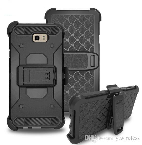 Für Samsung Galaxy S7 Rand On5 G550 Hinweis 7 Grand Prime G530 Großhandelspreis Hybrid Rüstung Defender Combo Holster Gürtelclip Stilvolle Abdeckung