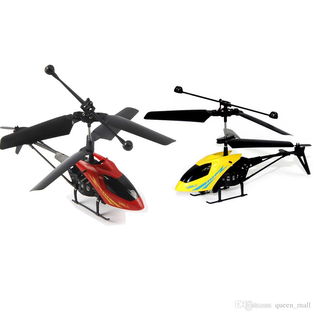 New Version Mini RC Helicopter 3 7V Radio Remote Control Aircraft 3D 2 0  Channel Drone Copter With Gyro And Lights Toy Helicopter For Adults Rc