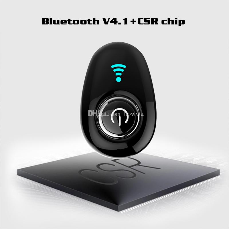 S650 Mini Wireless V4.1 Bluetooth Earphone Headsets Headphone cellphone earbuds with Mic for iPhone Samsung Huwwei Xiaomi HTC
