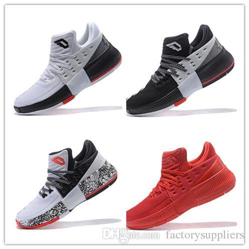 df5cc6596ca2 Bounce Techifit Lillard Dame 3 Basketball Shoes High Qulity Roots CNY Rip  City Wholesale Man Sizes USA 7 12 Sneaker