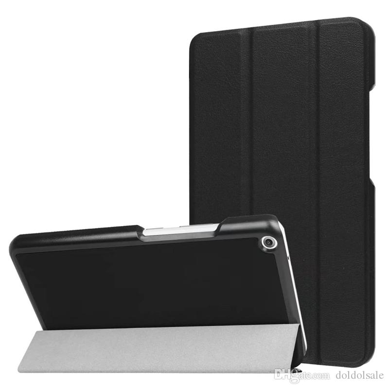 Flip PU Leather Case Cover with Stand for Lenovo TAB3 Tab 3 7 Plus 7703 7703X TB-7703X TB-7703F 7 Inch Tablet + Screen Protector
