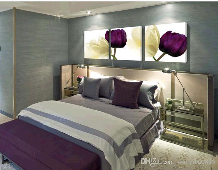 Satın Al Lale Oturma Odası Kanepe Arka Plan Duvar Dekorasyon Boyama