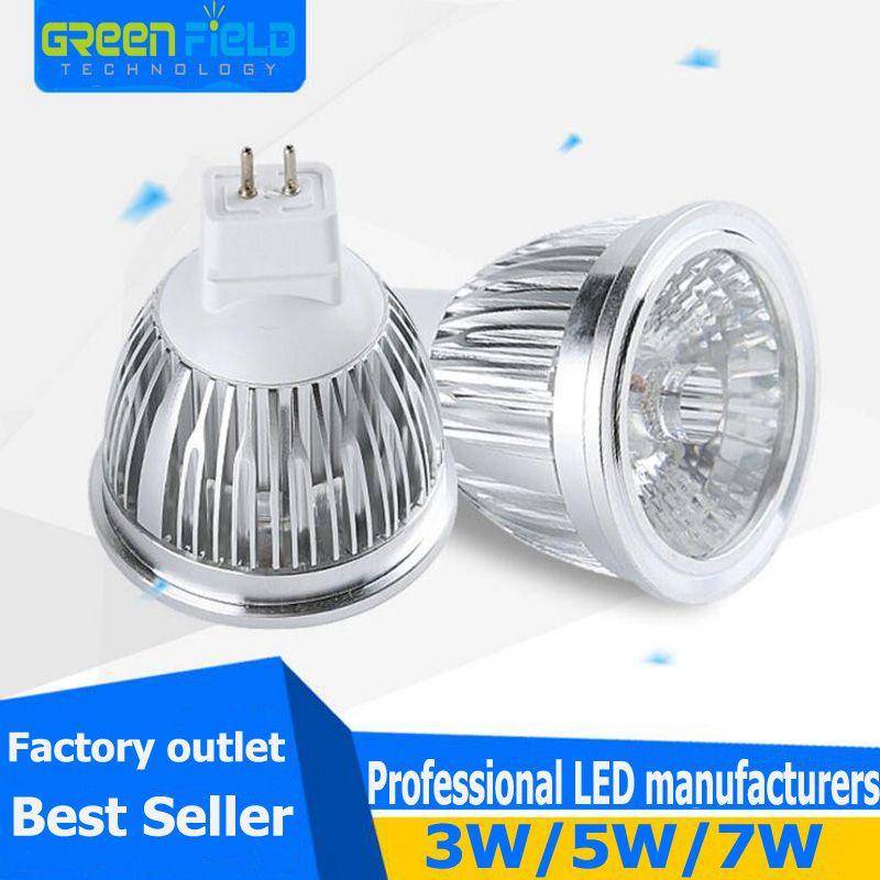 2018 Factory Outlet 3w Cob Led Spotlight Lamp Mr16 Ac12v Light Bulb ...