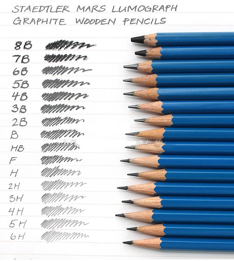 Wholesale-STAEDTLER Professional drawing pencil,6 pcs /set ,12 pcs /set,16  pcs full set you can choose