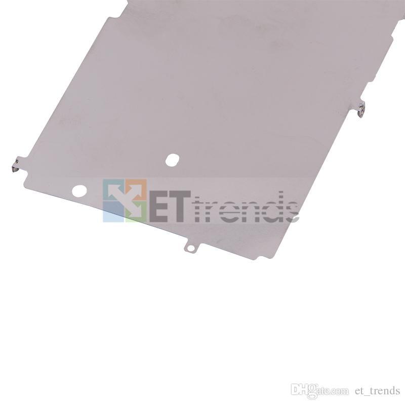 Original novo lcd placa de metal de volta para o iphone 7 substituição dhl frete grátis ad1503