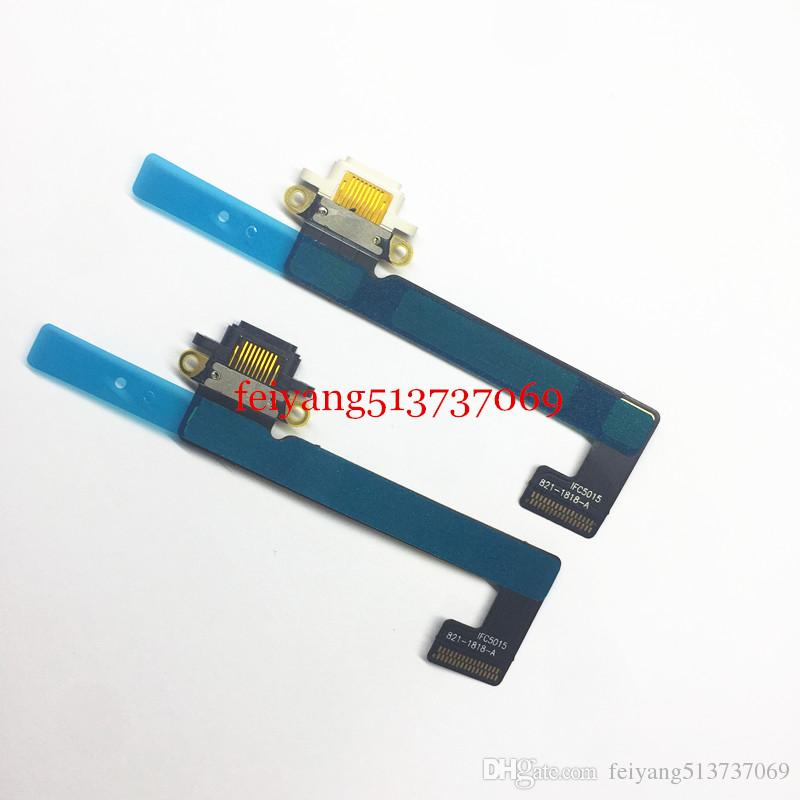 black white original Usb Plug Charge Board Replacement Charging Port Connector Flex Cable For Ipad mini 2 3