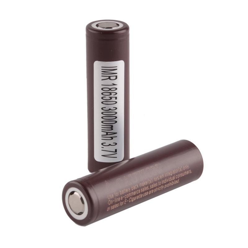 100% Yüksek Kalite HG2 18650 Pil 3000 mAh 35A Max Şarjlı Lityum Piller LG Hücreleri için Fit Vape Kutusu Mod 0269006