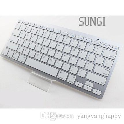 Low price Bluetooth Wireless Keyboard newstyle super Slim Streamline Design wireless keyboard for ipad mini laptop pad