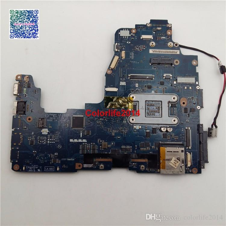 K000121690 LA-6832P For Toshiba Satellite P750 P755 Motherboard without Graphics Card fully tested & working perfect