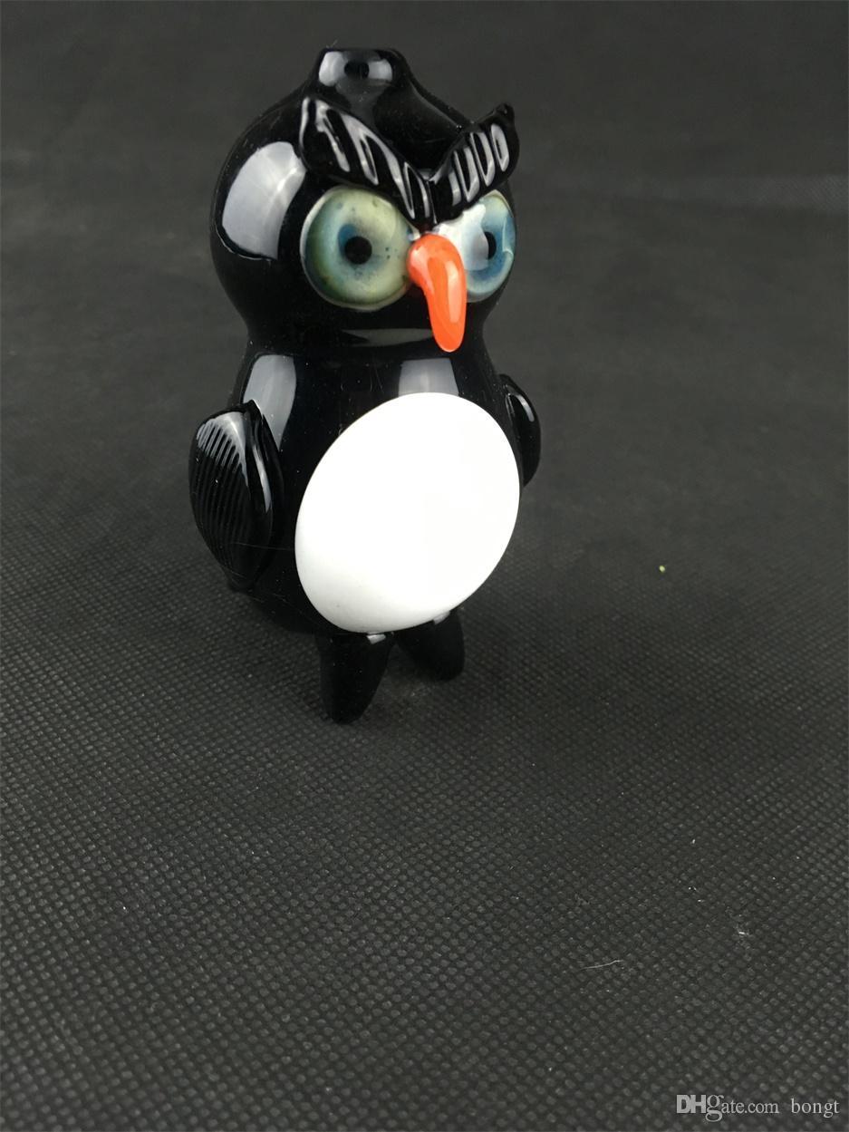 Pipe, Pinguin-Öl-Rig-Hukahn 14mm Joint Design schön, willkommen auf Bestellung, Fabrik Direktverkäufe, Preis-Zugeständnisse