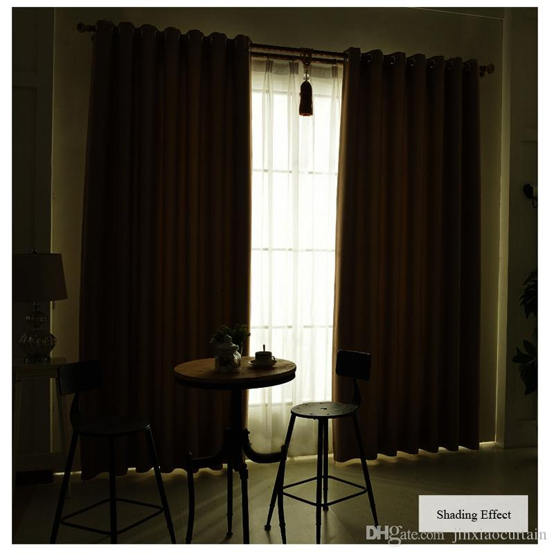 norne room darkening thermal insulated blackout curtains noise blocking window treatment drapes curtain for living room
